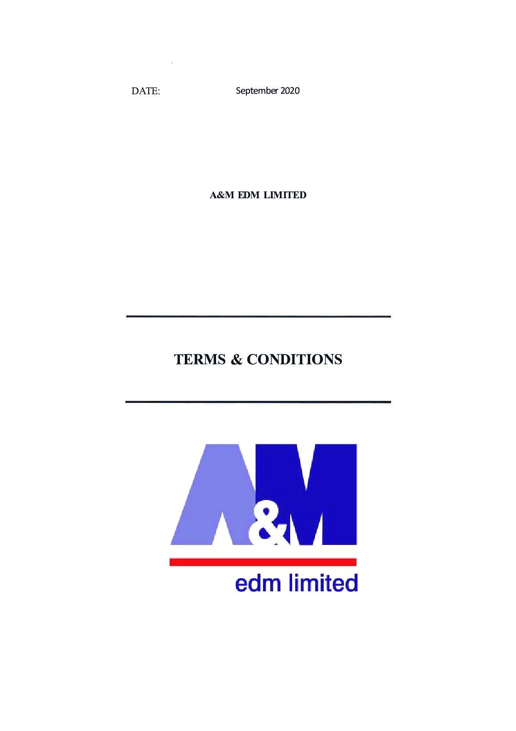 Terms Conditions pdf Downloads
