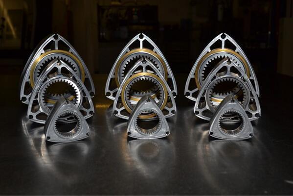 UAV Rotary Engines