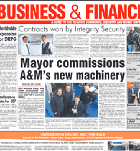 andy s eas 500 Media coverage for Mayor Andy Street's visit to A&M
