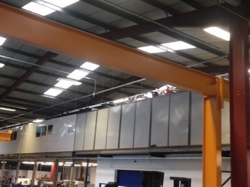 aw2 500 New anchor wall screens to increase factory space