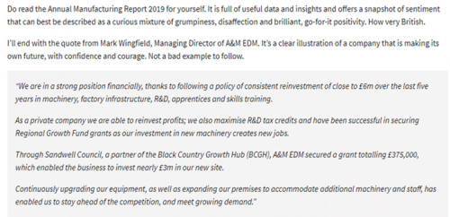 manuf comment on aam 14 march 500 A&M EDM: making its own future, with confidence and courage