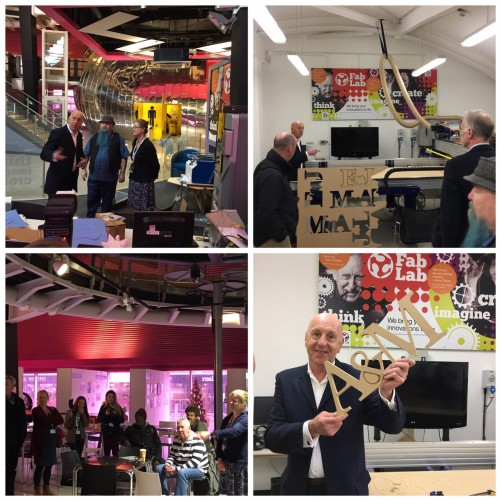 melvin fab lab 500 Fab Lab exhibition opened by A&M director, Melvin Wingfield